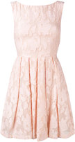Blugirl lace fit and flare dress