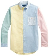 Polo Ralph Lauren Classic-Fit Colorblock Classic Oxford Shirt