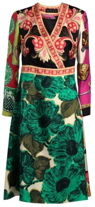 Etro Patchwork Print Dress