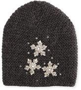 Jennifer Behr Snowflake Beanie Hat