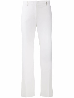 Alberta Ferretti High-Rise Flared Trousers
