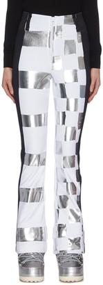 Rossignol x JCC 'Dami' metallic check ski pants