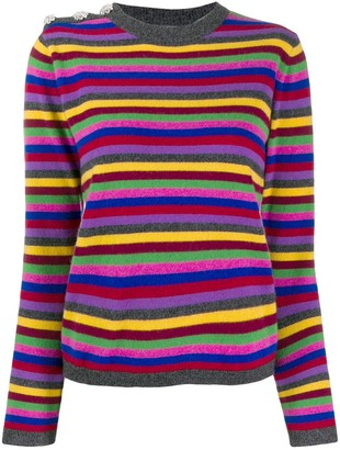 Ganni Striped Cashmere Jumper