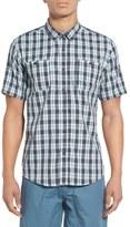 Ezekiel Regular Fit Plaid Short Sleeve Woven Shirt