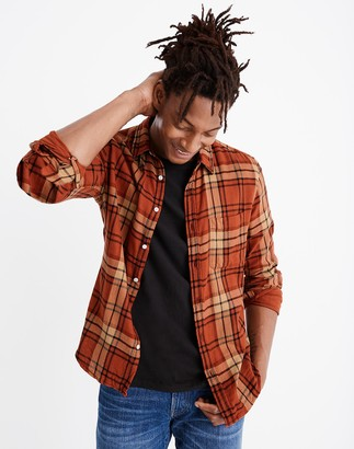 Madewell Double-Weave Button-Down Shirt in St. Louis Plaid