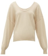 See by Chloe Scoop-neck Wool-blend Sweater - Womens - Beige