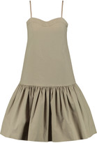 Marc by Marc Jacobs Gathered stretch-cotton mini dress