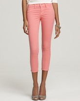 835 Crop Skinny Jeans in Coral