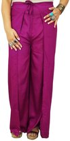 Indianbeautifulart Thai Fisherman Harem Pants Wrap Yoga Trousers Boho Gypsy Aladdin Pajama