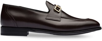 Prada Bright Calf leather loafers