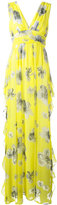 MSGM floral print dress - women - Cotton/Polyester - 40