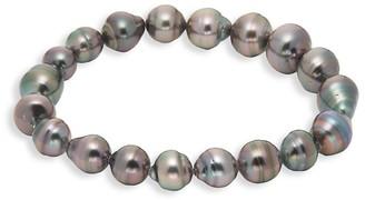 Tara Pearls 8x10MM Tahitian Pearl Bracelet
