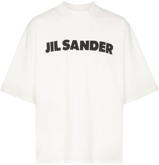 Jil Sander logo print T-shirt