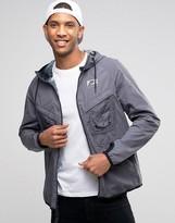 Nike International Hooded Jacket In Grey 802482-021