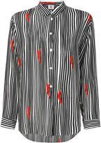 Paul Smith striped chilli print shirt