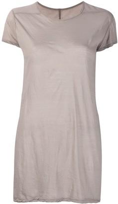 Rick Owens long round neck T-shirt