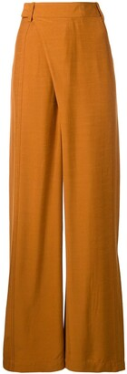 3.1 Phillip Lim Front Wrap Wide Leg Trousers