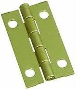 NATIONAL MFG/SPECTRUM BRANDS HHI National Mfg Co 2Pk 1-1/2X7/8 Brs Hinge N211-219 Solid Brass Hinge [Misc.]