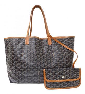 Goyard Navy Cloth Handbags