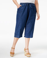 Karen Scott Plus Size Capri Pants, Only at Macy's