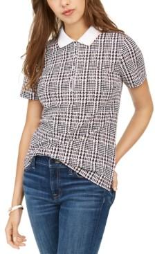 Tommy Hilfiger Plaid Polo Shirt
