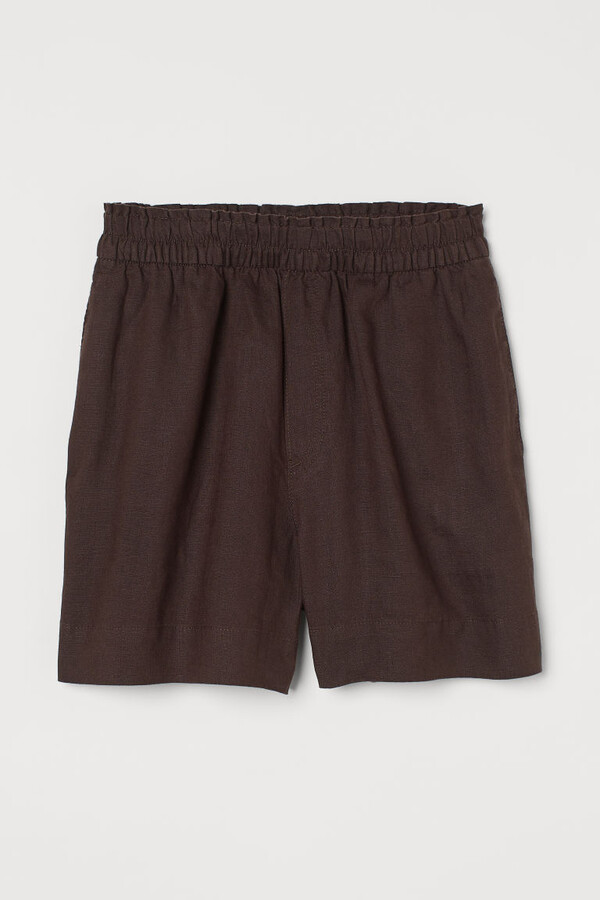Thumbnail for your product : H&M Linen shorts