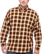 THE FOUNDRY SUPPLY CO. The Foundry Big & Tall Supply Co. Long-Sleeve Flannel Shirt