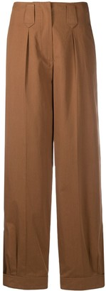 Kenzo Tapered Cotton Trousers