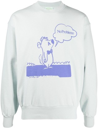 Aries Graphic Print Sweatshirt