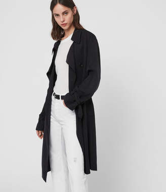AllSaints Ria Trench Coat