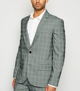 New Look Check Suit Jacket