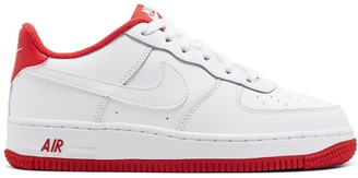 Nike Air Force 1 Kids Leather Trainers