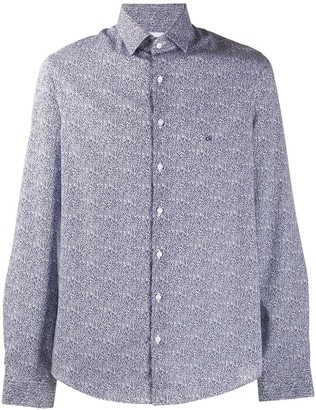 Calvin Klein Abstract-Print Shirt