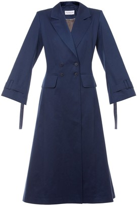 Talented A Line Coat Blue
