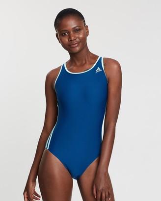 Adidas Swim 3-Stripe Swimsuit