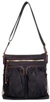 M Z Wallace 'Mia' Bedford Nylon Crossbody Bag - Black
