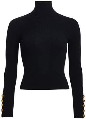 A.L.C. Desi Rib-Knit Turtleneck Sweater