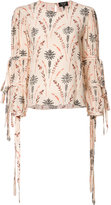 Creatures of the Wind floral print blouse - women - Silk - 8