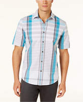 Alfani Men's Kenly Plaid Shirt, Created for Macy's