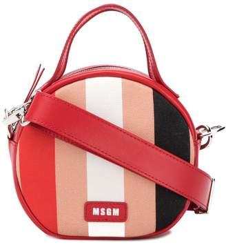 MSGM small round shoulder bag