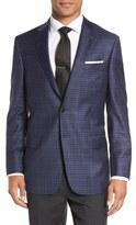 Hart Schaffner Marx Classic Fit Check Wool Sport Coat