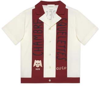 Gucci Chambre des Squelettes Button-Up Shirt