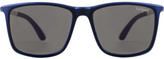 Le Specs Blue Tweedledum Sunglasses