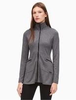 Calvin Klein Performance High Collar Zip Jacket