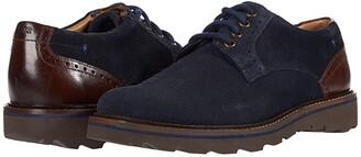 Nunn Bush Buchanan Plain Toe Oxford (Black) Men's Shoes