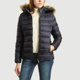 Over The Top Just just Black Polyamide Luxury Down Jacket - Polyamide   m   black - Black/Black