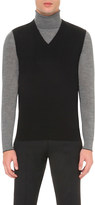 John Smedley Hadfield merino-wool vest
