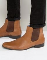 Red Tape Chelsea Boots In Leather