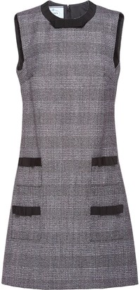 Prada Prince of Wales check dress