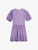 Thumbnail for your product : Ted Baker Cotswld animal-print woven mini dress